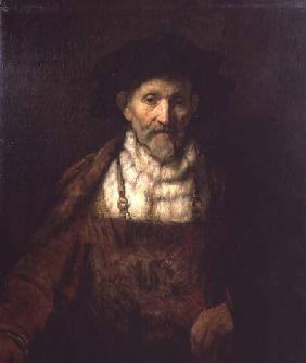 Portrait of an Old Man in Period Costume