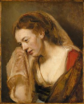 A Woman Weeping