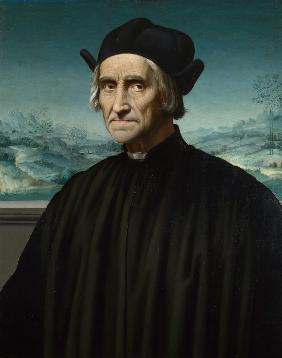 Portrait of Girolamo Benivieni (1453-1542)