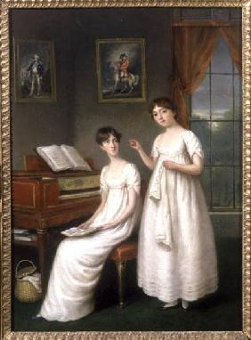 Portrait of the Irwin Sisters