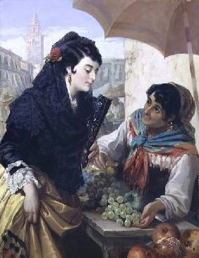 The Spanish Fruit Seller