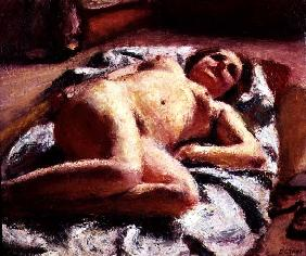 Reclining Nude, 1924 (oil on canvas)