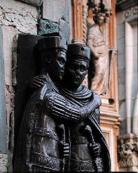 Two of the Four Tetrarchs