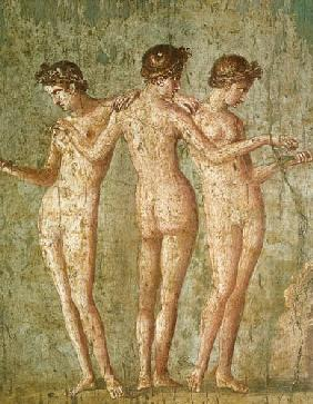 Three Graces, from Pompeii