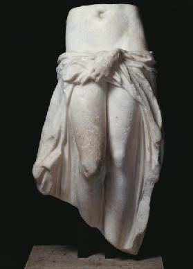 Aphrodite holding her garments, from Tripoli