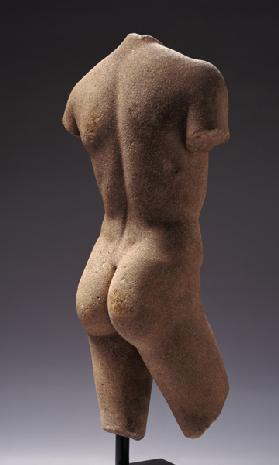 Rear view of a Naked Youth
