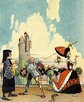 As it was in 1400, Front Cover of Puck, July