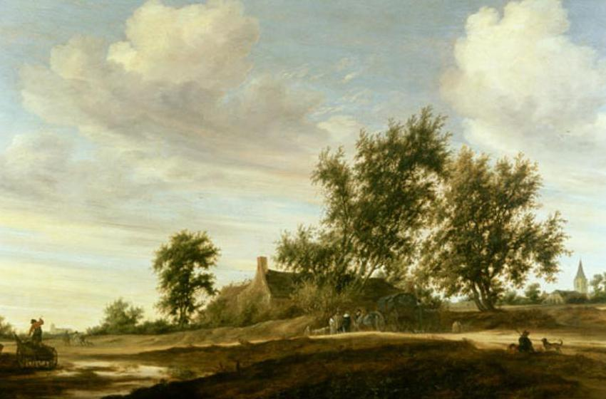 Salomon van Ruisdael or Ruysdael