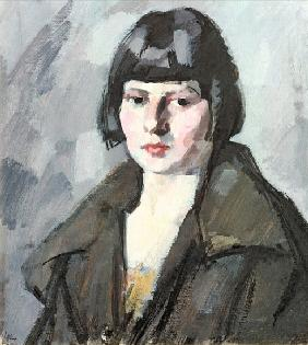 Head of a Young Girl, c.1920