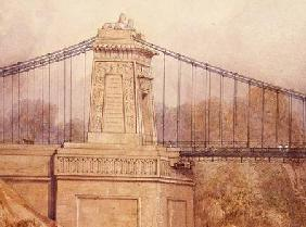 Detail of the Approved Design for the Clifton Suspension Bridge