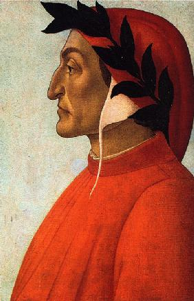 Portrait of Dante Alighieri (1265-1321)