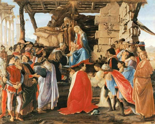 Adoration of Kings / Botticelli