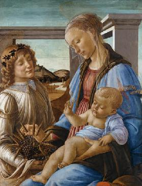 Madonna and Child with Angel (Madonna dell'Eucarestia)