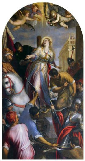 The Martyrdom of St. Christina