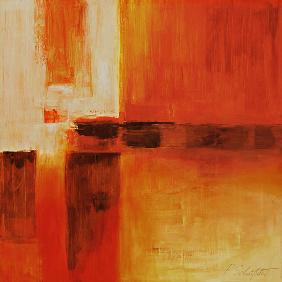 Composition in Orange and Brown