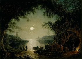 A Moonlit Cove