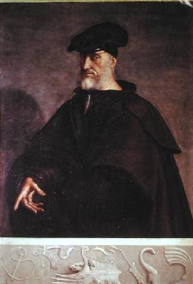 Portrait of Andrea Doria (1468-1560)
