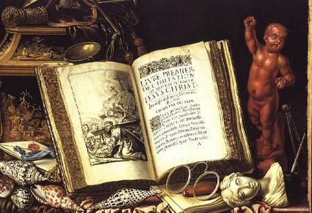 A vanitas still life simon renard de saint andre - Vanite simon renard de saint andre ...