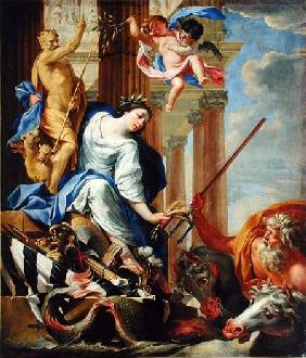 Ceres Vanquishing the Attributes of War