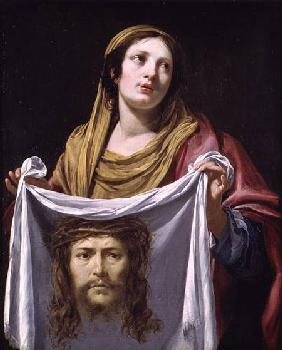St. Veronica Holding the Holy Shroud