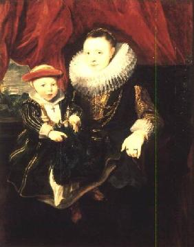 Portrait of a Woman and Child