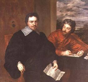 Thomas Wentworth, Earl of Strafford (1593-1641) and his Secretary, Sir Philip Mainwaring (1589-1661)