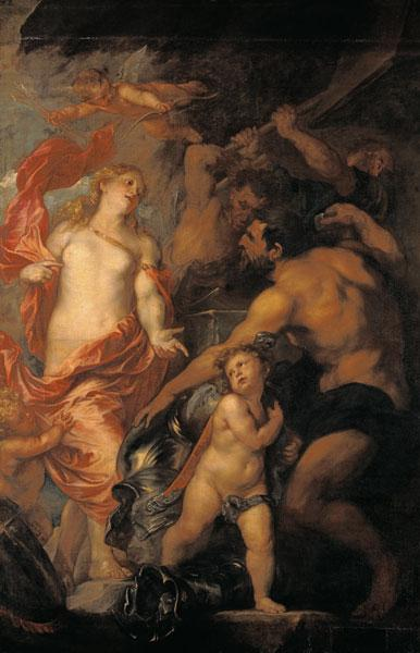 Venus asking Vulcan for the Armour of Aeneas