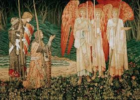 Attaining the Holy Grail , Tapestry