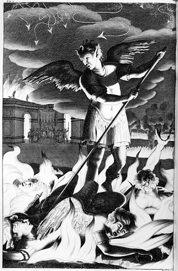 Describe Satan's character in Book I of Paradise Lost by John Milton.