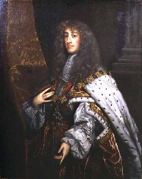 Portrait of James II (1633-1701) in Garter Robes