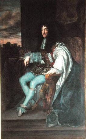 Portrait of King Charles II (1630-85)