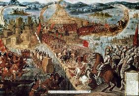 The Taking of Tenochtitlan by Cortes