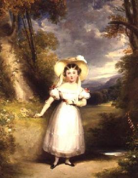 Princess Victoria (later Queen Victoria) aged nine