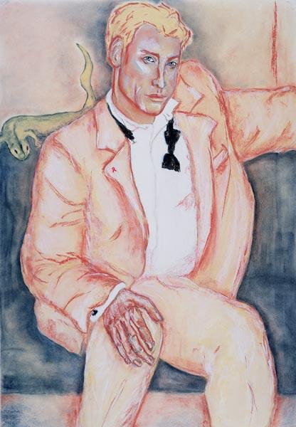 David, 1998 (pastel and charcoal on paper)