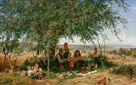 prayer on the crop 1861