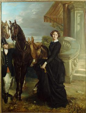Portrait of the Comtesse de Ranchicourt