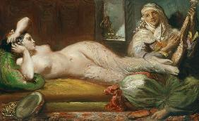 Chass�riau, Th�odore : Reclining Odalisque