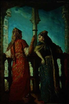 Jewish Women at the Balcony, Algiers