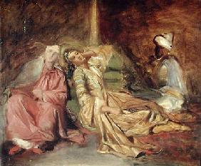 Study for the Interior of a Harem