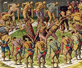 A Barbarian Celebration, from ''Navigatio in Brasiliam Americae''