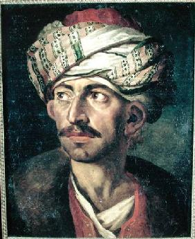 Head of an Oriental or Portrait Presumed to be Mustapha