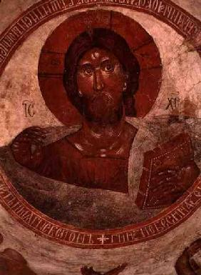 Christ Pantocrator, on the cupola of the Church