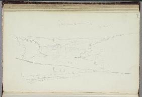 Untitled, landscape with notations