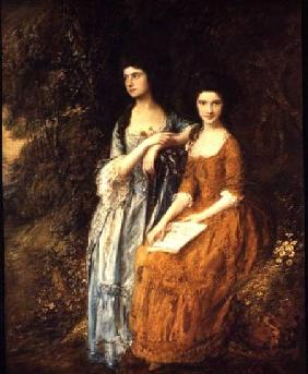 The Linley Sisters (Mrs. Sheridan and Mrs. Tickell)