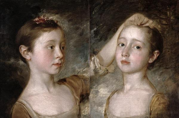 The Painter's Daughters Mary and Margaret