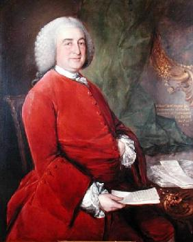 Portrait of Robert Nugent, Lord Clare