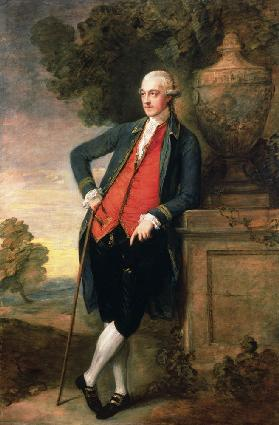 Portrait of Sir Harbord Harbord. Bt. Mp.