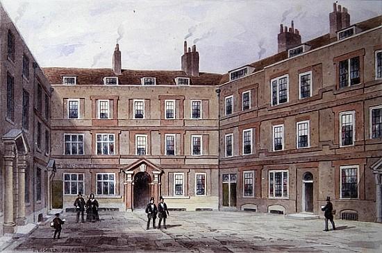 The College of Advocates, Doctors'' Comm - Thomas Hosmer Shepherd en  reproduction imprimée ou copie peinte à l'huile sur toile