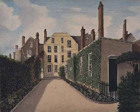 St. James' Square Bristol: View of the main house
