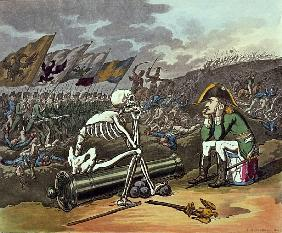 Napoleon and skeleton